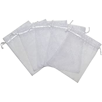 Amazon.com: SumDirect 100PCS 3x4 Inches Organza Gift Bags ...