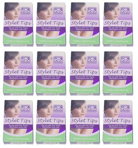 Clean & Easy One Touch Electrolysis Stylet Tips 12 - Packs (24-tips Total)
