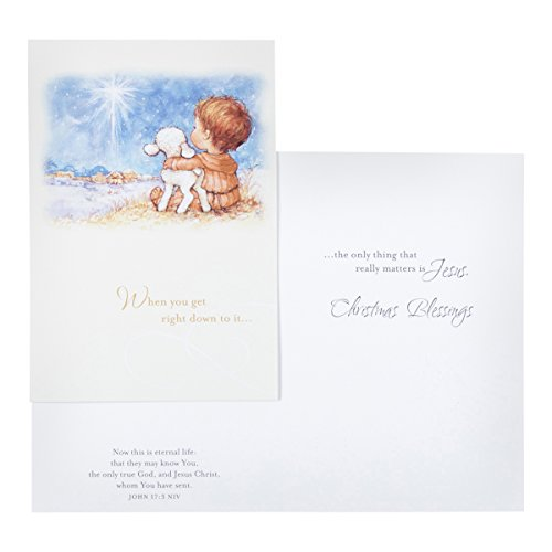 DaySpring Boxed Christmas Cards 18 Ct w Designed Envelopes - Only Jesus Photo #3