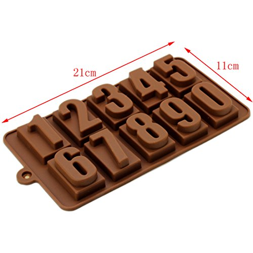 Temperature Number Biscuit Silicone Kitchen