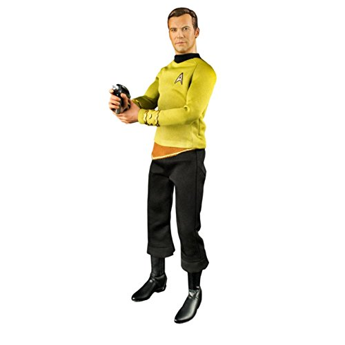QMx Star Trek: TOS Kirk 1:6 Scale Articulated Figure ()