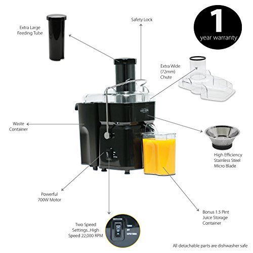 easy clean juicer machine