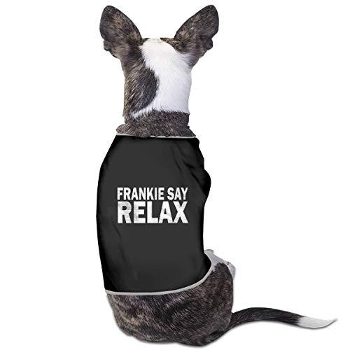 Pet Dog's Frankie Say Relax Coat - S, M, L