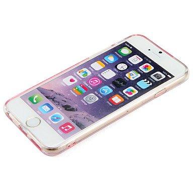 Fundas y estuches para teléfonos móviles, Caso para el iphone de la manzana 7 más la cubierta líquida del caso del iphone 7 que fluye el brillo del brillo de la caja iphone duro 6s ( Modelos Compatibl IPhone 6s Plus/6 Plus