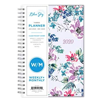 Amazon.com : Blue Sky 2019 Weekly & Monthly Planner ...