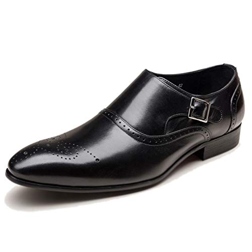 cda53eed1b5bf Starttwin Men Dress Shoes Fashion Vintage Slip on Wedding Formal Oxford  Shoes