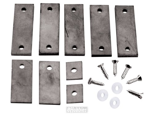 Pinecar Tungsten Incremental Plate Weights 3 oz