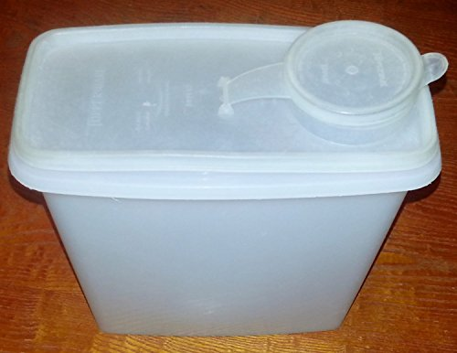 Cereal Stor Container + seal - Produced in various color choices/combinations (Tupperware 13 Cup Cereal)