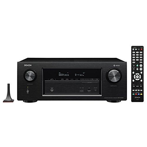 Denon AVR-X3400H 7.2 Channel 4K Ultra HD Network AV Receiver with HEOS -...