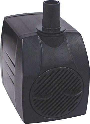 EasyPro Pond Products Tranquil Decor 1000 GPH 93 Watt Submersible Fountain Pump by EasyPro Pond Products