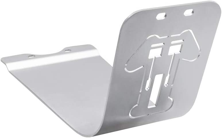 Sump Guard Silver Skid Plate