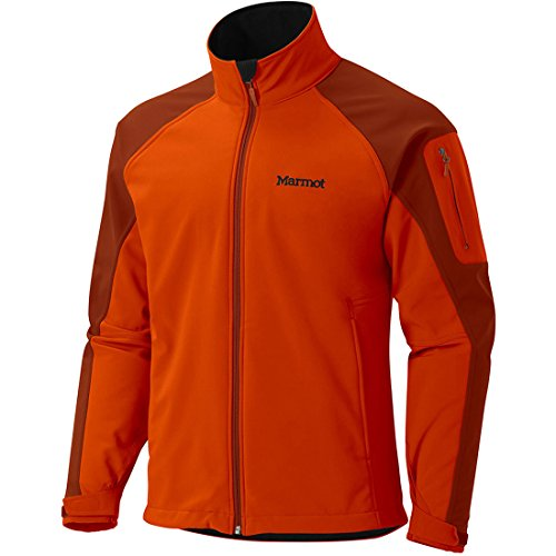 Marmot Men's Gravity Jacket 2015 (Orange Haze/Dark Rust, XXL)