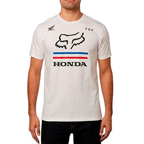 Fox Racing Honda Premium T-Shirt-Optic White-M