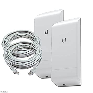 Ubiquiti M5 150Mbps Outdoor Wireless Bridge Kit: Amazon co uk
