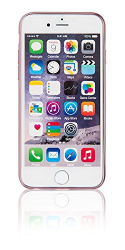 Épée -022352electro-style Étui pour Apple iPhone 6/6s-rose or