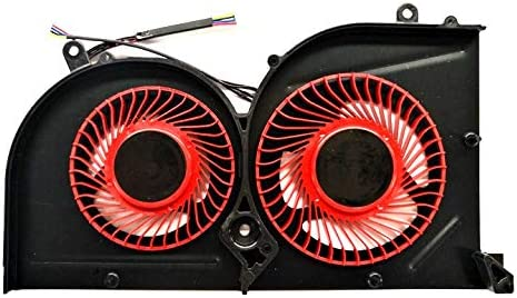 QUETTERLEE Replacement New Compatible MSI GS63 GS63VR GS73 GS73VR MS-16K2 MS-17B Series Laptop GPU Cooling Fan Part Number BS5005HS-U2L1