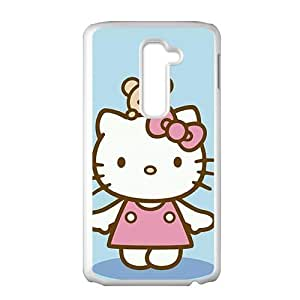 HUAH Hello kitty Phone Case for LG G2 Case by supermalls