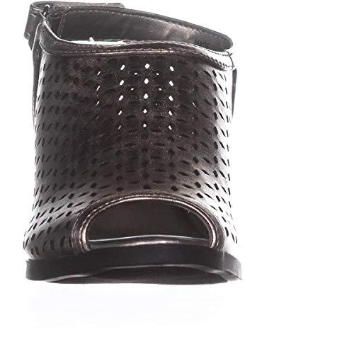 Wedge Metallic Apela Bandolino Pu Sandal Pewter Nappa Women's PaEgqwgv