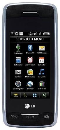 amazon com lg voyager vx10000 phone black verizon wireless cell rh amazon com Samsung Voyager Voyager Cell Phone Service