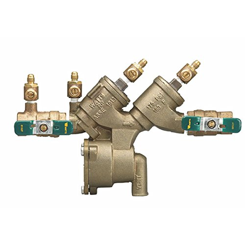 Watts 0065372 3/4'' Reduced Pressure Zone Assembly, Quarter Turn Ball Valves, Lead-Free