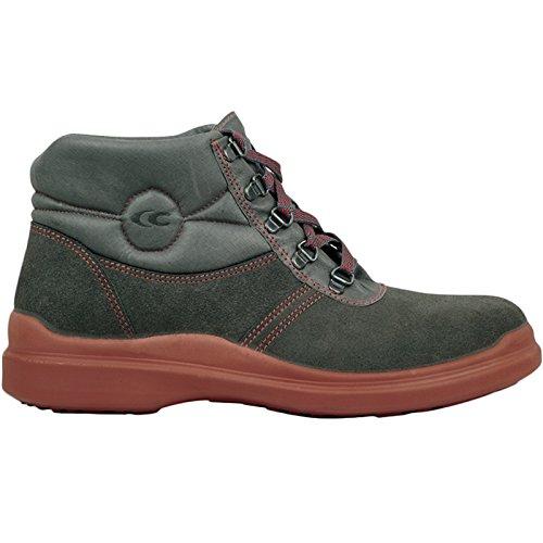 "Cofra 58250–002.w42Talla 42O3""DACHDECKER Zapatos de seguridad, color negro y rojo"