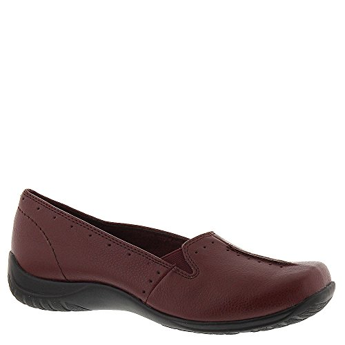 Easy Street Women's Purpose Slip-On Shoes, Cranberry, 6.5 M/B