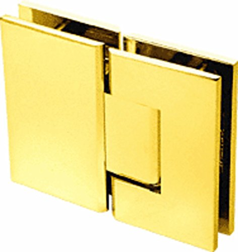 CRL Geneva 580 Series Gold Plated 180186; Glass-To-Glass Hinge with 5186; Offset - Gold Plated Geneva Series