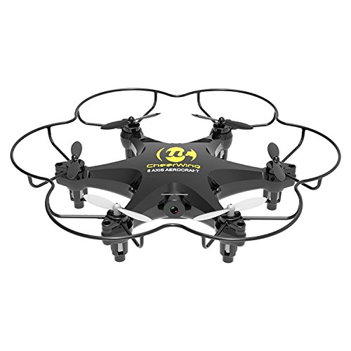 Cheerwing CW6 2.4Ghz 4CH Mini RC Quadcopter Drone UFO with 2MP HD Camera...