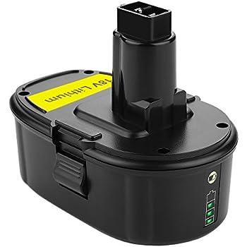 Dewalt Dc9096 2 18v Xrp Battery Combo Pack Cordless Tool