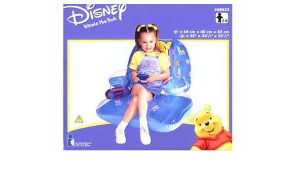 INTEX - Sillon Winnie Hinchable 68552: Amazon.es: Juguetes y juegos
