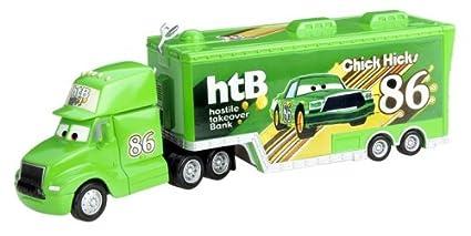 amazon com cars chick hicks hauler toys games