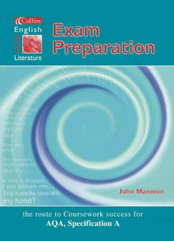 Read Online Collins GCSE English and Literature - Exam Preparation Student's Book (Collins GCSE English & literature) pdf epub