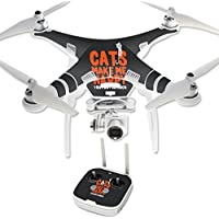 Skin For DJI Phantom 3 Professional – Cats Make Me Happy | MightySkins Protective, Durable, and Unique Vinyl Decal wrap cover | Easy To Apply, Remove, and Change Styles | Made in the USA