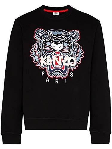 Kenzo Luxury Fashion Mens FA55SW0014XA99 Black Sweatshirt | Spring Summer 20
