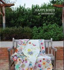 Happy Birds Jen Kingwell Quilt Pattern Booklet JKD 5484