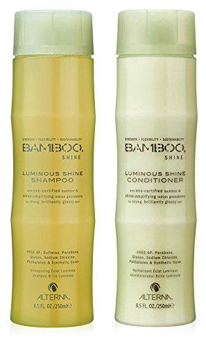 Bamboo Shine Luminous Shampoo and Conditioner Set, 8.5-Ounce