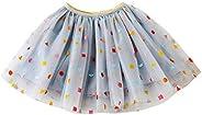 YOHA Baby Girls Birthday Tutu Dress Mermaid Tutus Soft Pom Tutu Dress for Toddler Girls
