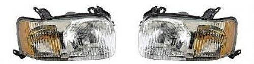 02 ford escape headlights lens - 3