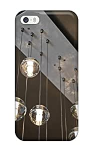 New Fashion Premium Tpu Case Cover For Iphone 5/5s - Chandelier Made Of Glass Globe Pendant Lights