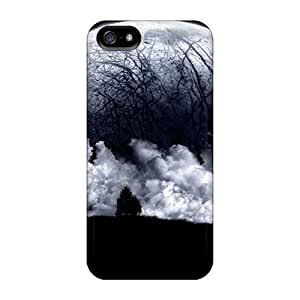 MeSusges Design High Quality Dark Moon Cover Case With Excellent Style Case For Sam Sung Galaxy S5 Cover