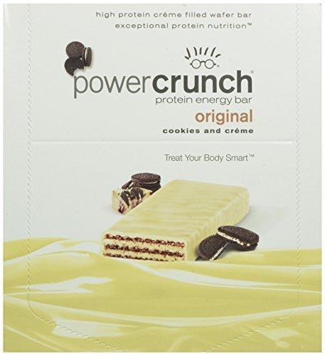 Bio Nutritional - Power Crunch Cookie - 12 per Box - Wild Berry Creme Power Crunch Berry Creme