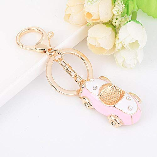 Hanpiaotech Convertible Car Keychain Metal Key Ring Bag Pendant (Color : B, Size : M)