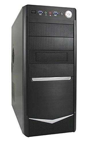 LC-Power 7024B Carcasa de Ordenador - Caja de Ordenador (Midi-Tower,