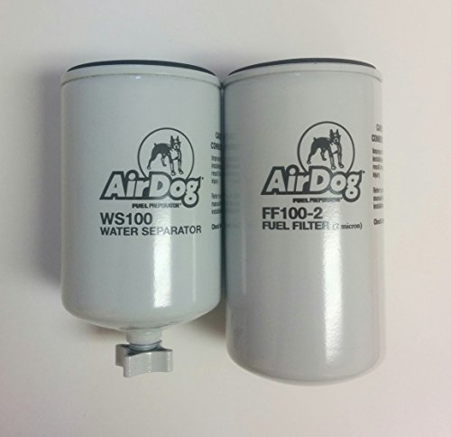 Air Water Gas - AirDog Pre-Filter WS100 and Fuel Filter FF100-2 Combo Pack