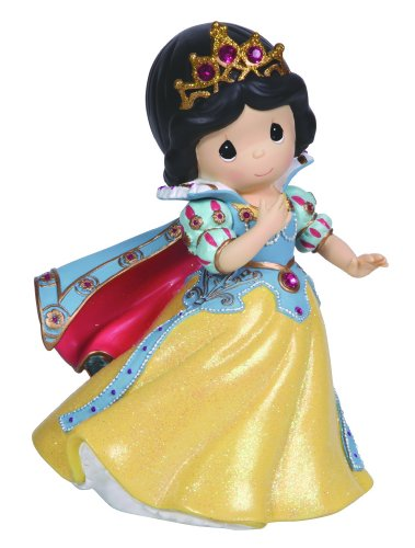 - Precious Moments, Disney Showcase Collection, Girl As Snow White, Resin Rotating Music Box, 124105
