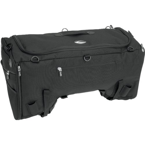 Saddlemen TS3200 Deluxe Sport Fashion Tail Bag - Black / Size 25.5'' W x 13'' H x 12'' D by Saddlemen (Image #3)