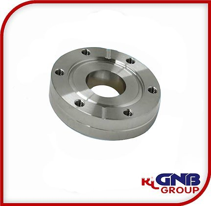 "GNB KL Group - CF600 Bored Flange Fixed, Tapped Holes, for 4"" Tube"
