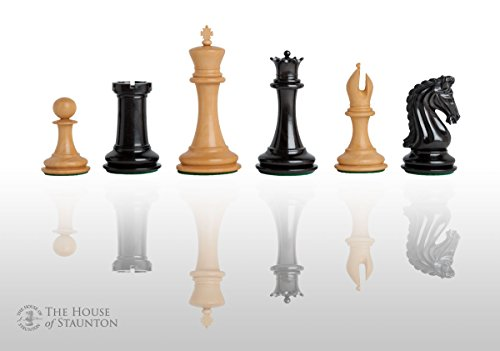 (The House of Staunton - The Forever Collection - Imperial Collector Luxury Chess Set - Pieces Only - 4.4