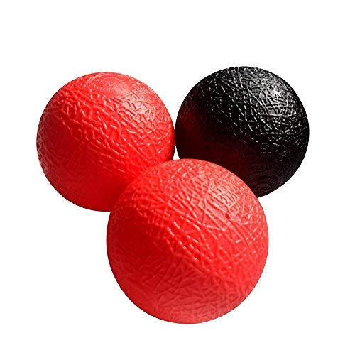 Wham-O Trac Ball Replacement Balls (Set of 3) Black & Red ()