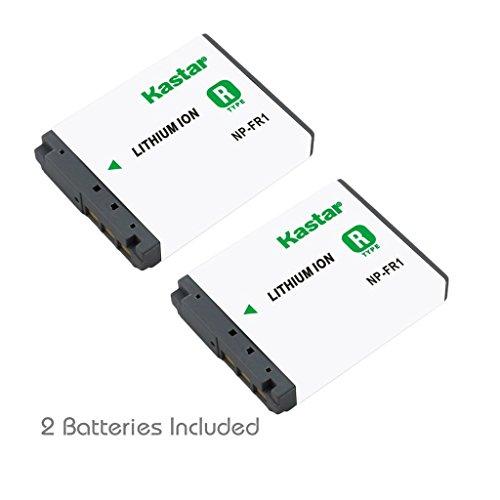 Kastar Battery (2-Pack) for Sony NP-FR1, NPFR1, BC-TR1, TRN, TRN-U and Sony Cyber-Shot DSC-F88, DSC-G1, DSC-P100, DSC-P100/LJ, DSC-P100/R, DSC-P120, DSCP150, DSC-P200, DSC-T30, DSC-T50, DSC-V3 Cameras